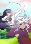 Kagome and Inuyasha by Wasserspiegel