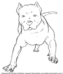 Image Result For Free Pitbull Coloring