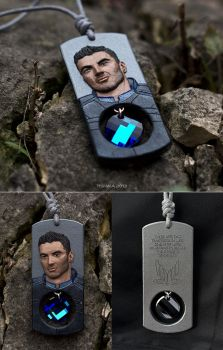 The Biotic's Heart - Kaidan Alenko Mass Effect by tishaia