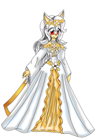 Mellina's Wedding dress by RoX-Ann