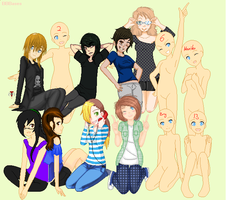 Pixel yourself collab! by Marie8D