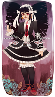 Celestia Ludenburg by Blue-Space-Muffin