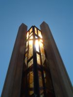 stained glass pole by loghry