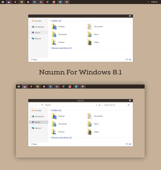 Naumn For Windows 8.1 by Cleodesktop