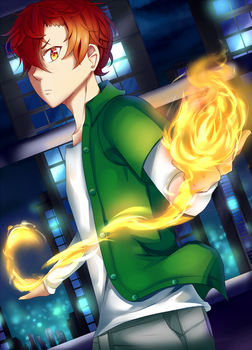Spark of the Night by Reddomi