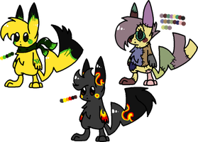*CLOSED* Pikachu Adopt Batch #1 by Void-Adoptables