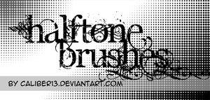 Halftone Brush Set by Caliber13