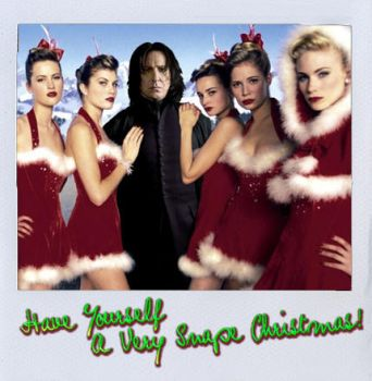 A Snape Christmas, indeed by pilka3331