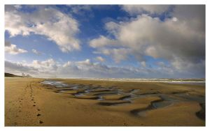 Sand Shapes Panorama by xtuv