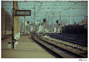 No train leaves today by billysphoto