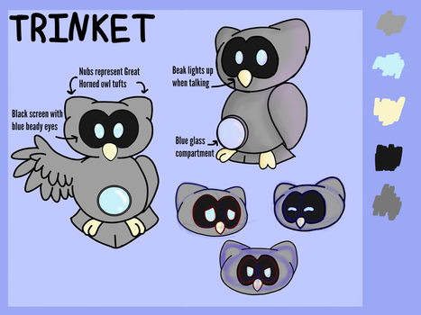 Trinket OC Ref Sheet by NickTheNightOwl