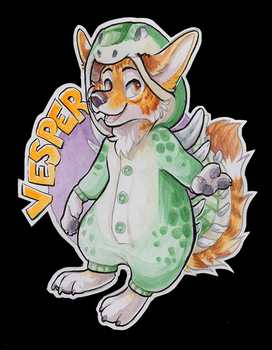 Vesper Badge by ThayRustback