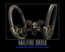 Star Wars Hailfire Droid by Onikage108