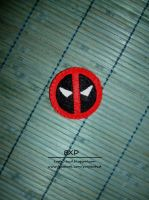 Deadpool - felt badge by nezstorm
