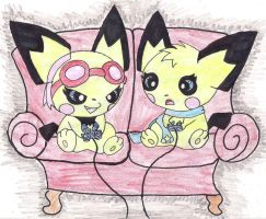 Playing Video Games by Sutata