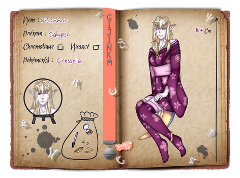 [Maelstrom] Fiche personnage - Calypso by Bul-chan