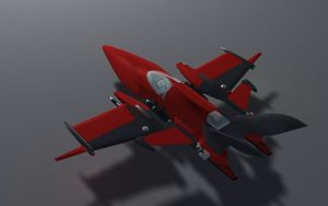 L-50 Fighter 'Inferno Red' by MikomDude