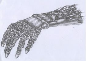 Robotic Hand by pessimistic-orange