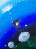 dandelion adventure by vicber