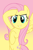 Fluttershy Ready Wallpaper by ParticleJello