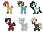 Song Inspired Pony Adopts CLOSED (Cheap) 2 by acervine