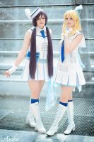 Love Live: Eli and Nozomi by Ansuchi