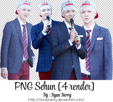 PNG Pack Sehun (EXO) by choisherry