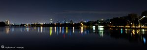 Melbourne City At Night... by Al-Msafer