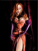 Jessica Rabbit by ZeePonj