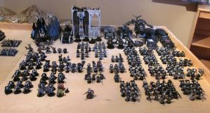 My whole collection of 40K by Stanfar