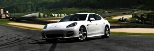 White Panamera by Estranged89