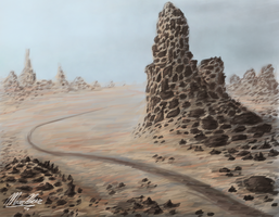 Desert Spire by F33R-the-B33R