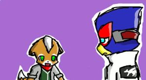 Paffendorf Fox and Falco by NekoKittyKitsune