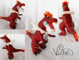 697 Tyrantrum by VictorCustomizer