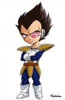 Dragon Ball : Vegeta by Kalahan