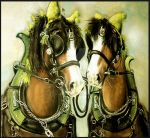All Dressed Up - pastel by Lynne-Abley-Burton