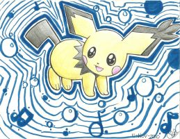 Pichu's Waves by Sumomogirl1