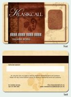 Klasikcall Membership card by nativeEvil