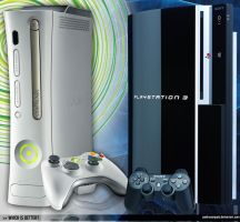 Xbox 360 Vs. Playstation 3 by pedrosampaio