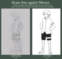 Draw this Again MEME by Ruu-k