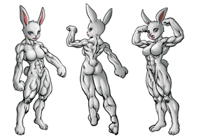 New Year Bunny colored by Ritualist