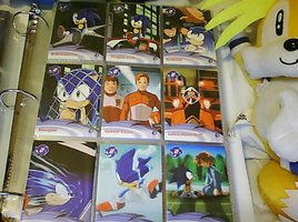.:Sonic X Cards:. 28 - 36 by SEGAMew