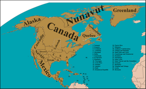 North America, circa 2064 by Nederbird