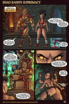 Shao Kahn's Supremacy 01 by miycko