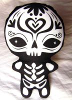 Muertos Sugar Skull Plush by fuish
