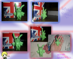APH: Flying Clay Bunny by Kira-Nyan