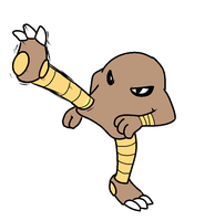 Hitmonlee by 0Shiny0
