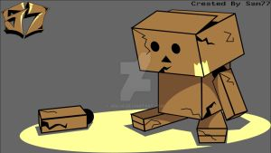 Sad Danbo by Arc48