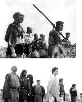 Seven Samurai Tribute Comparison 2 by hapajedi