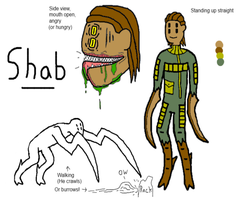 OC: Shab the Alien Insect by AskE-700